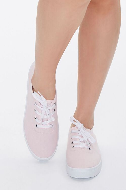 Canvas Low-Top Sneakers, image 4