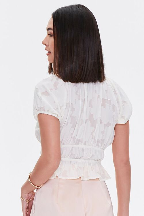 Burnout Puff-Sleeve Top, image 3