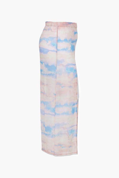 Plus Size Cloud Wash Mesh Skirt, image 2