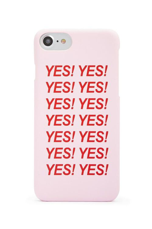 Yes Graphic Case for iPhone 6/7/8, image 1