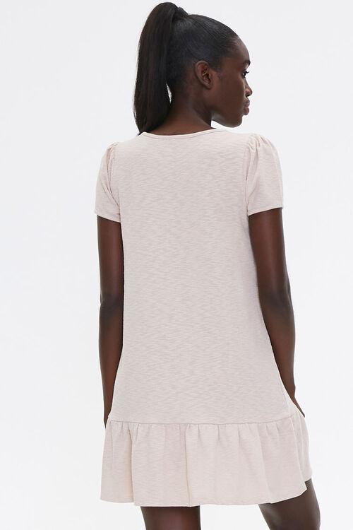Flounce-Hem Mini Dress, image 3