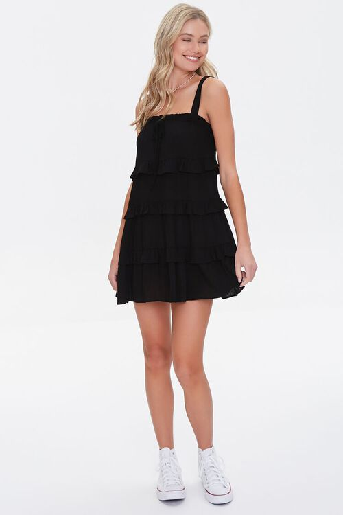 Tiered Ruffle Mini Dress, image 4