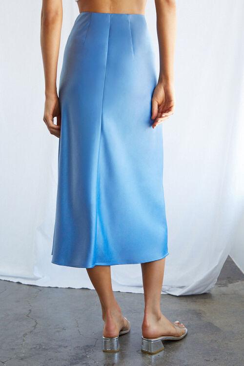 Satin Midi Skirt, image 4