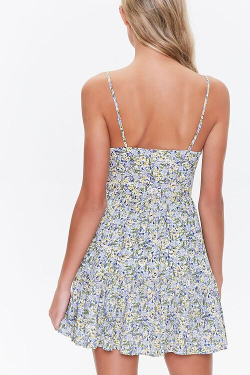 Floral Cutout Mini Dress, image 3