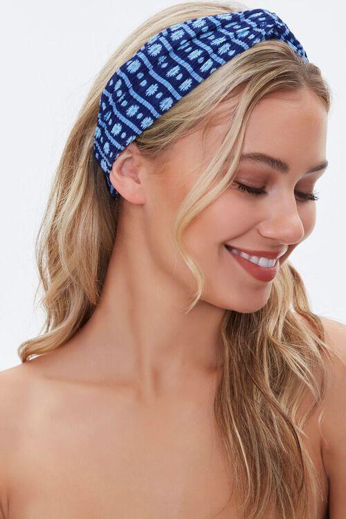 Multi Colored Stripe Headwrap