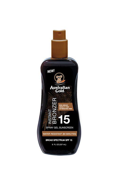 SPF 15 Spray Gel Sunscreen With Instant Bronzer, image 1