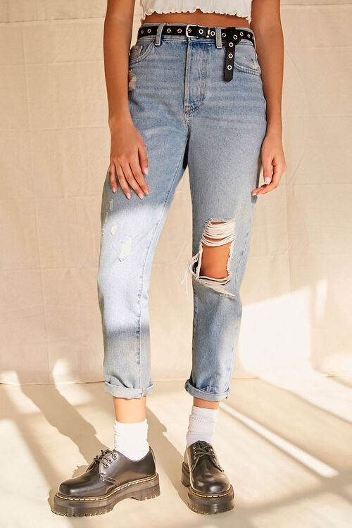 Distressed Mom Jeans, image 7