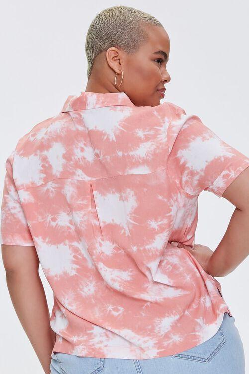 Plus Size Bleached Pocket Shirt, image 3