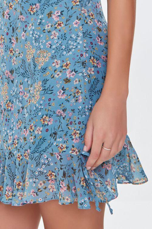 BLUE/MULTI Floral Print Cami Dress, image 5
