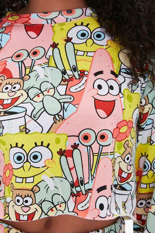 SpongeBob SquarePants Print Pullover, image 5