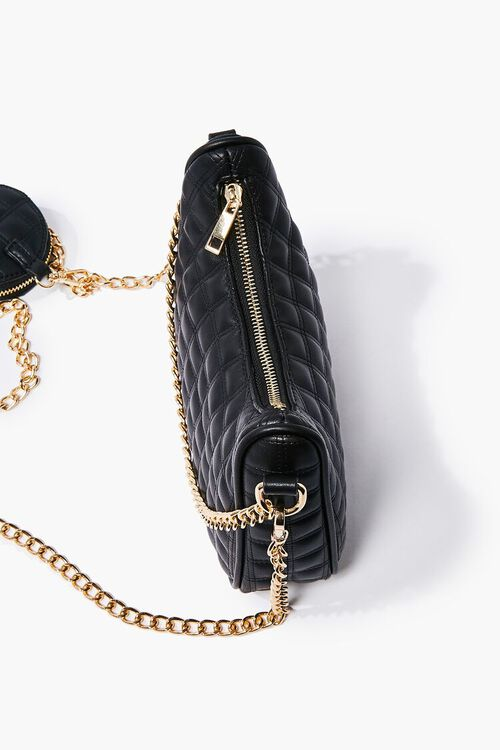 Quilted Chain-Strap Bag, image 4