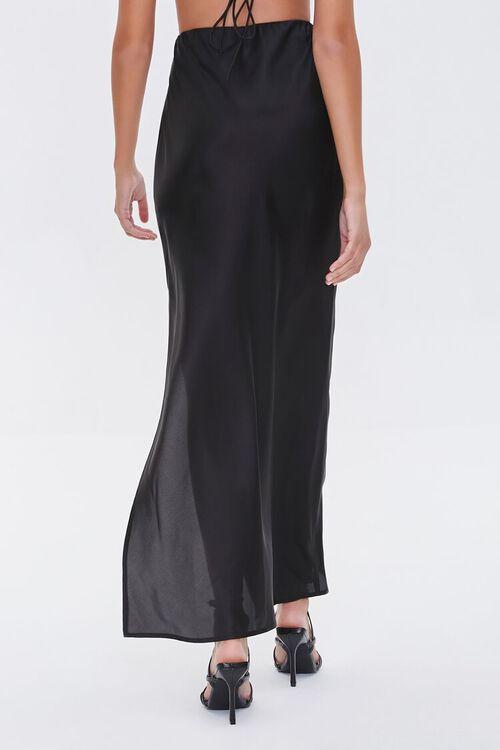 Satin Maxi Skirt, image 4