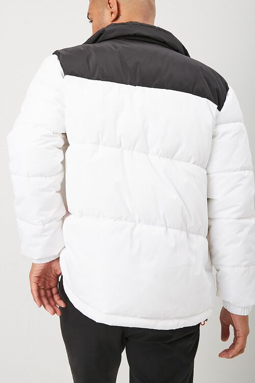 Colorblock Puffer Jacket, image 3