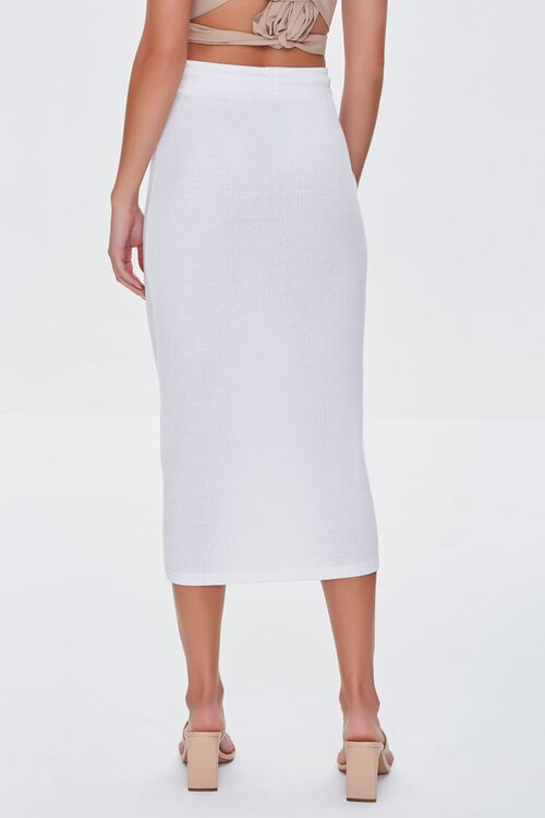 CREAM Fitted Drawstring Skirt, image 4