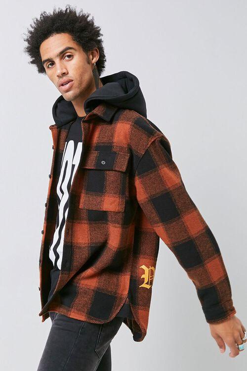 Plaid Hooded Jacket, image 2