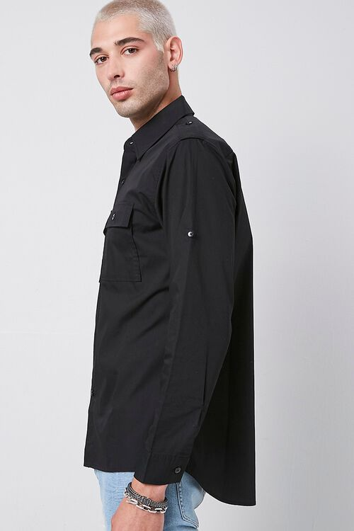 Epaulet Flap Pocket Shirt, image 2