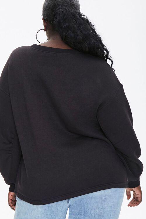 Plus Size Love Graphic Pullover, image 3