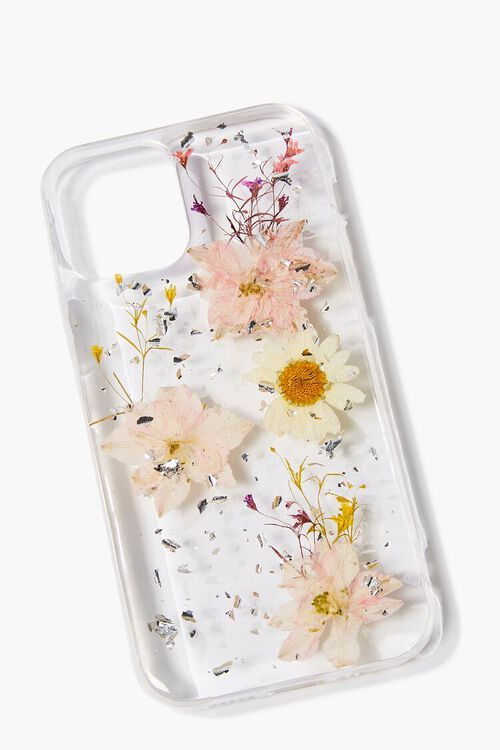 PINK/MULTI Pressed Flower Phone Case for iPhone 12, image 2