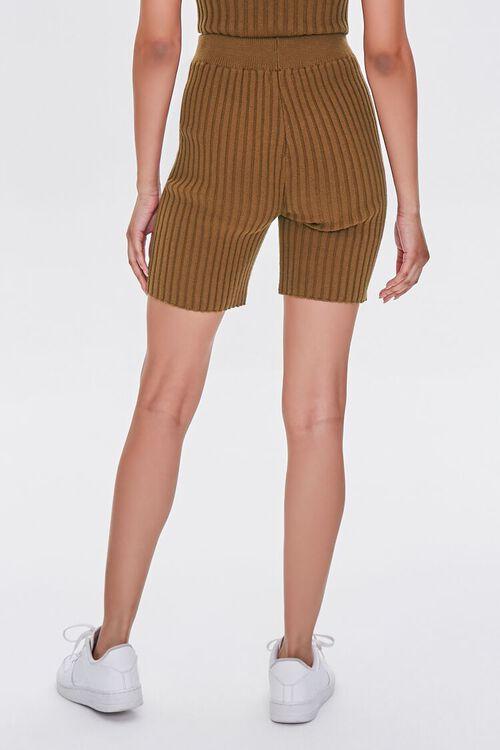 Ribbed Knit Bermuda Shorts, image 4
