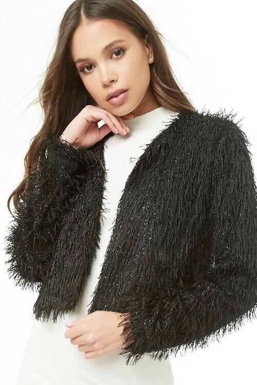 Shimmery Fringe Jacket, image 1