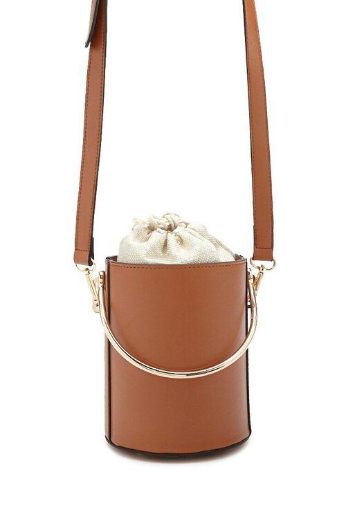 Faux Leather Satchel, image 1