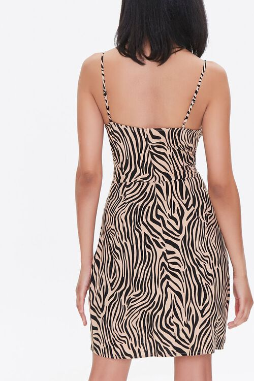 Tiger Print Mini Dress, image 4