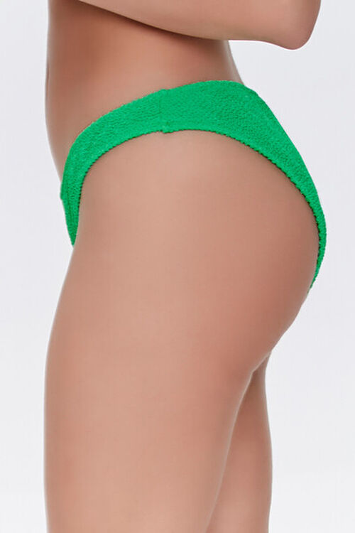 Textured Cheeky Bikini Bottoms, image 3
