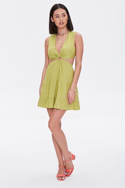 Cutout O-Ring Mini Dress, image 4