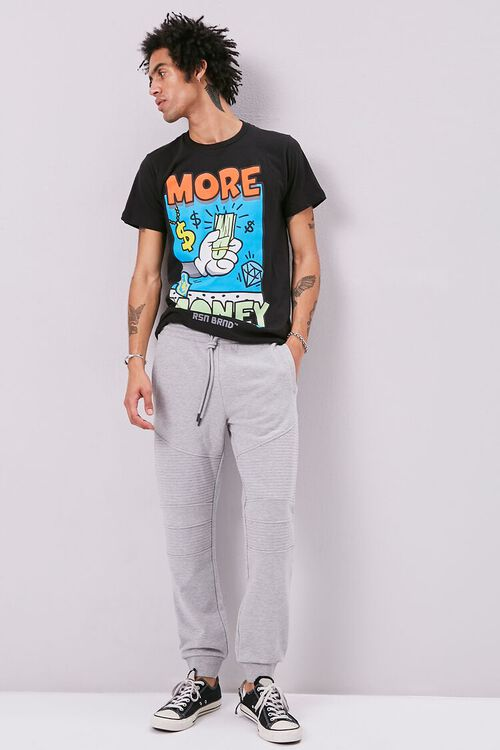 French Terry Moto Joggers, image 1