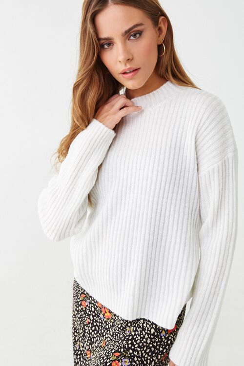 Wide Ribbed Sweater, image 1