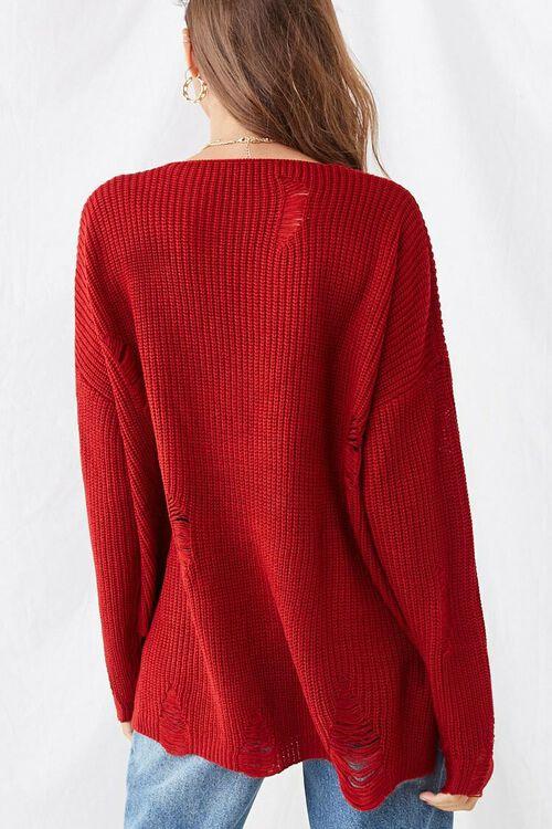 Distressed Longline Sweater, image 3