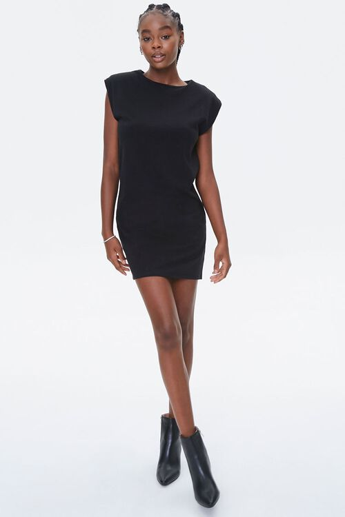 Shoulder-Pad T-Shirt Dress, image 4