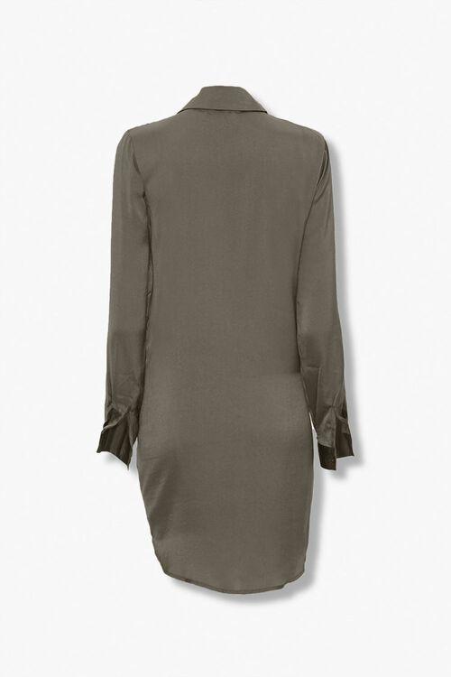 Tie-Front Shirt Dress, image 2