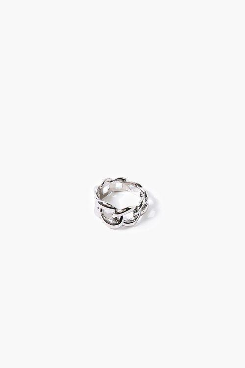 Men Cutout Chain Ring, image 1