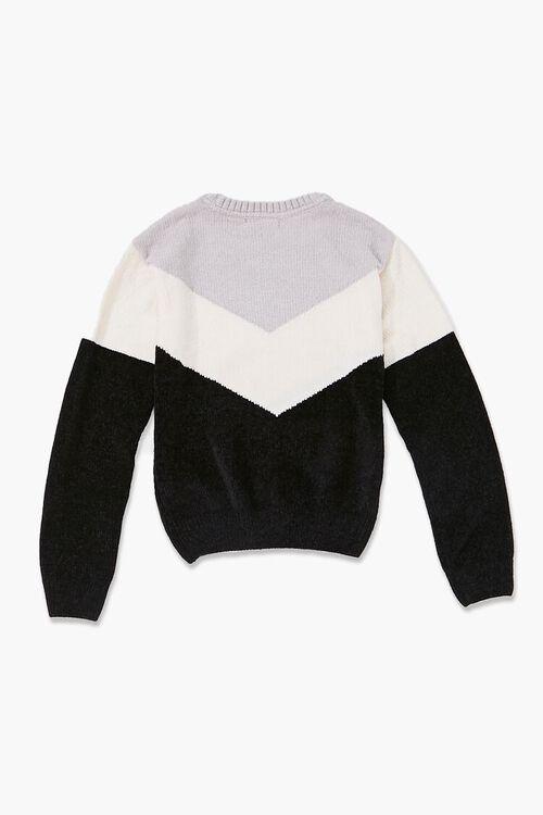 Girls Colorblock Sweater (Kids), image 2