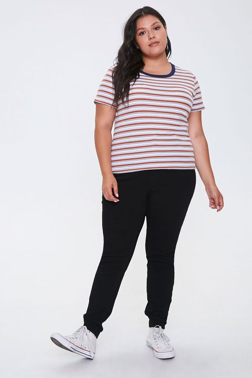 Plus Size Striped Tee, image 4