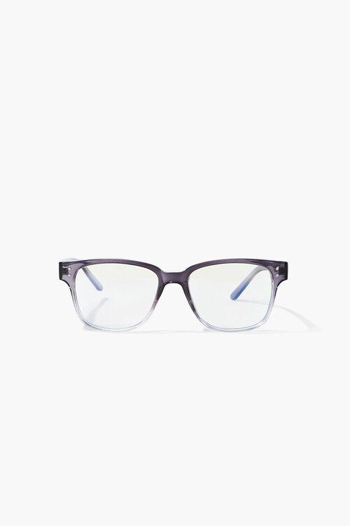 Blue Light Square Reader Glasses, image 1