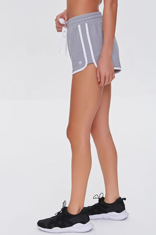 Active Contrast-Trim Dolphin Shorts, image 3