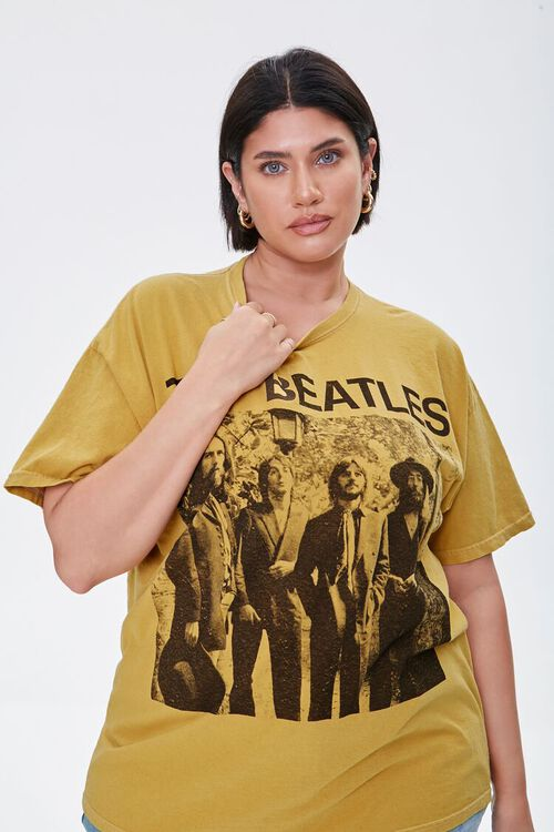 Plus Size The Beatles Graphic Tee, image 1