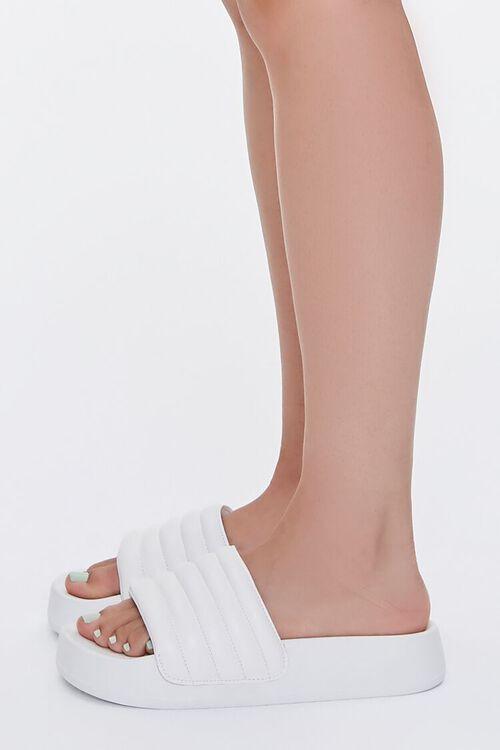 Quilted Slide Sandals, image 2