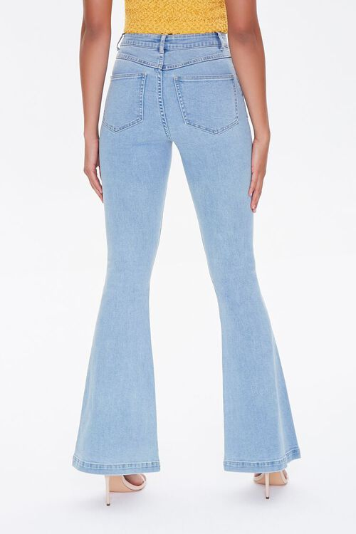 Clean Wash Flare Jeans, image 4