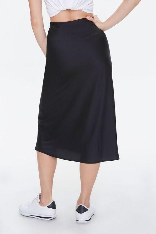 Satin Knee-Length Skirt, image 4