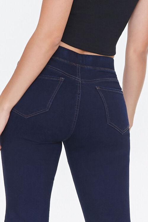 DARK DENIM High-Rise Flare Jeans, image 5