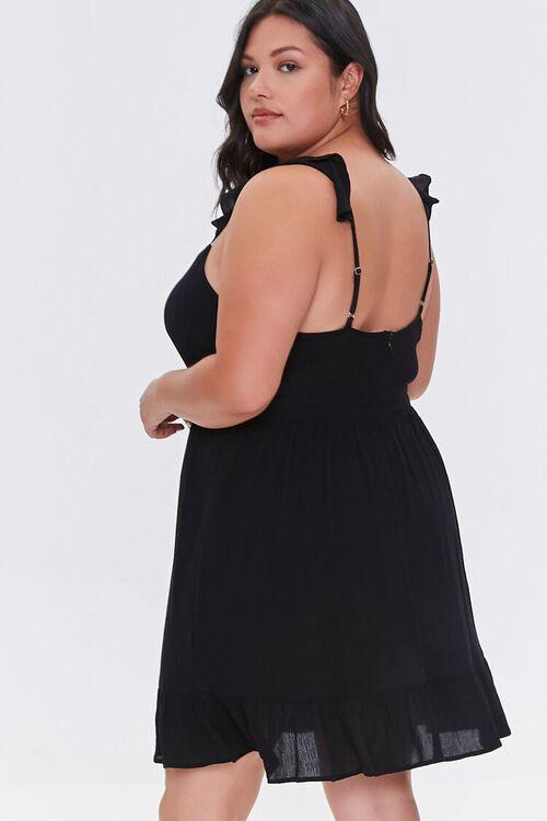 Plus Size Ruffle-Trim Dress, image 3