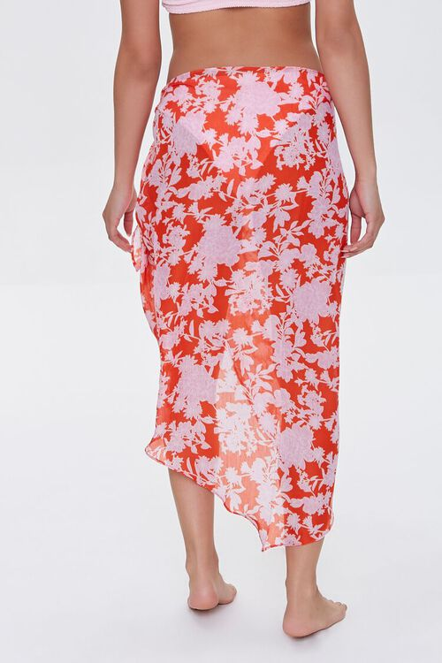 Floral Swim Cover-Up Sarong, image 4