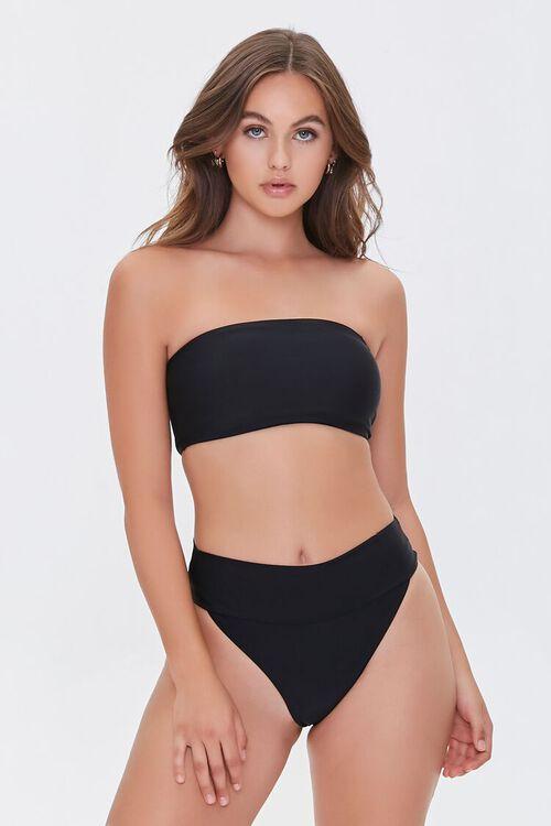 High-Waist Bikini Bottoms, image 1