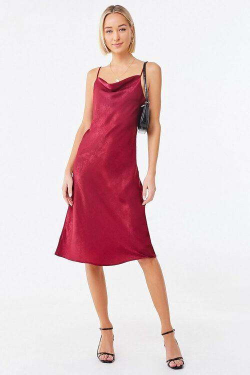 Cowl Neck Slip Dress, image 4