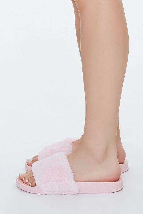Faux Fur Slippers, image 2