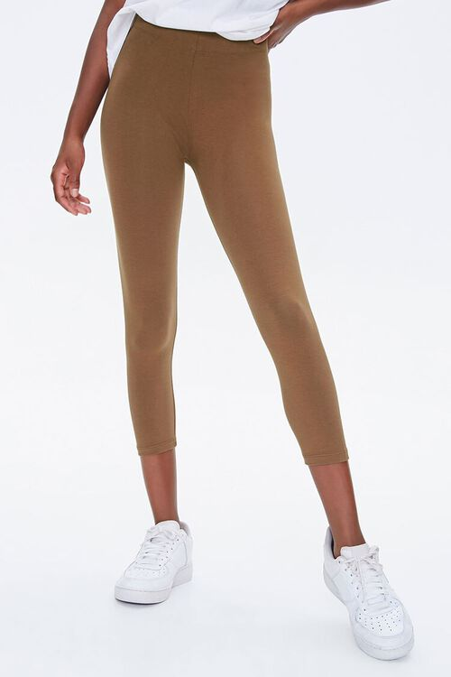 Basic Capri Leggings, image 2