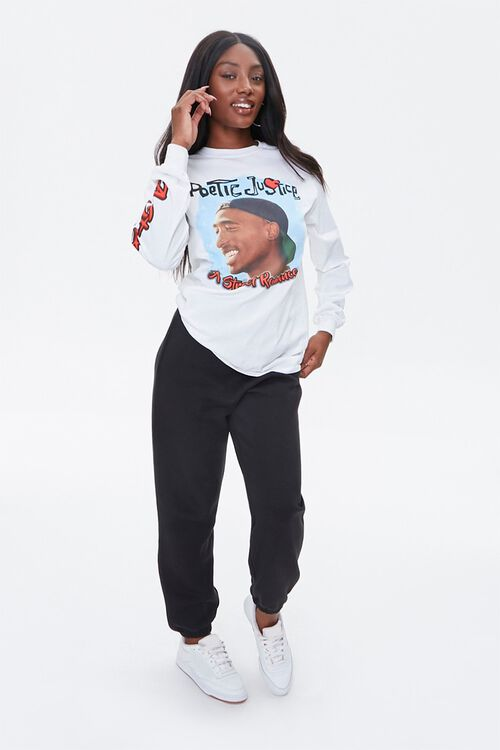 Tupac Graphic Long Sleeve Tee, image 4